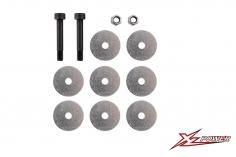 XLPower Ersatzteil Hauptrotorblatthalter Schrauben Set für XLPower 700