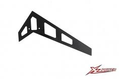 XLPower Ersatzteil vertikale Heckfine in schwarz für XLPower 700