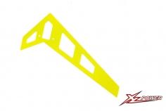 XLPower Ersatzteil vertikale Heckfine in gelb für XLPower 700