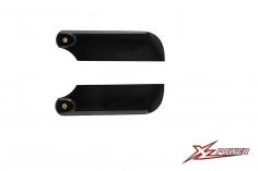XLPower Ersatzteil carbon Heckotorblätter 105mm für XLPower 700