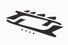 OXY Ersatzteil CNC Landekufen für OXY4 Max