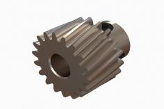 OXY Ersatzteil Motorritzel schrägverzahnt 18 Zähne für 5 mm Welle für OXY4 Max