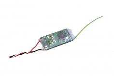 FUTABA Micro-Empfänger mit S.BUS R3206SBM 2,4 GHz T-FHSS 6/18-Kanal T-FHSS 2.4 GHz