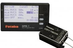 FUTABA CGY760R Gyro mit GPB-1 Programmer 3-Achs Heli Kreiseleinheit, Empfänger und Governor (mit Programmierbox)