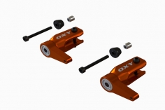 OXY Ersatzteil Hauptrotorblatthalter in orange für OXY 3 Tareq Edition 2018