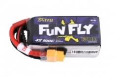 TATTU FunFly 1300mAh 14.8V 100C 4S1P Lipo Akku