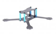 EGODRIFT Tribute Barely Legal 4 Zoll Rahmen mit Verbindern in Ice Blue