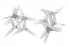 Emax Avan Mini FPV Race Propeller 3-Blatt 3x2,4x3 je 6xCW und 6xCCW in transparent