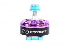 EGODRIFT FPV Racer Motor Atom Bomb Baby 2306  Lexie Edition in violet und blau 1700kV 1 Stück
