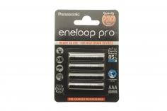Eneloop PRO Akku Micro AAA NiMH mit 930mAh 1,2Volt im 4er Pack