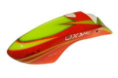 Fusuno Red Snake Design Airbrush fiberglas Kabinenhaube für OXY4 MAX