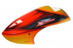 Fusuno Gourmet Airbrush Fiberglass Haube für XLPower 700