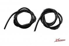 XLPower Ersatzteil 6mm und 8mm Spiralschlauch in schwarz je 1 Meter für XL Power 700