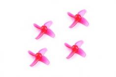 Happymodel Propeller Set 4Blatt 40mm für 1mm Welle in rot für Mobula7 Whoop 75mm 2S