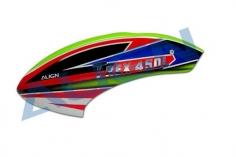 Align Kabinenhaube grün/rot/blau für T-REX 450L Dominator