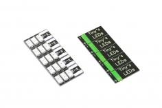 Tiny's Leds 3-6S mit 3 LED´s 5 Stück in grün