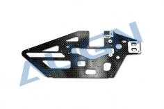Align linkes Chassis Seitenteil aus Carbon für T-REX 450L