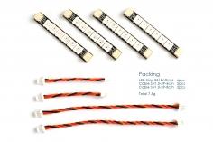 Matek WS2812 LED Streifen mit 6 LED´s 4 Stück