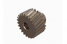 OXY Ersatzteil Motorritzel schräg verzahnt 22 Zähne für 5mm Welle für OXY4 Max