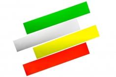 OXY Ersatzteil Heckrohr Sticker Set in 4 Farben  für OXY3
