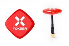 Foxeer ECHO FPV Patch Antenne RHCP SMA (mit Pin) und mit mit Kabel in rot