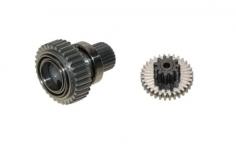 MKS Servo Abtriebszahnrad und Gegenzahnrad für HBL380 X8  - Taumelscheibenservo