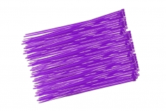 Kabelbinder mit sehr feinem Raster 200x2,7mm 100Stück in violette