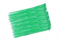 Kabelbinder mit sehr feinem Raster 200x2,7mm 100Stück in grün