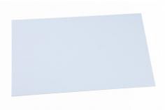ABS Kunststoffplatten Platte weiß 0,5mm 500x300mm