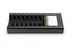 iSDT Ladegerät SMART CHARGER N8 mit 18W, 1,5A, 1-8S Nixx/LiXX, AA , AAA
