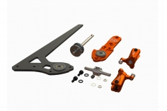 OXY Ersatzteil Heck Retrofit Upgrade Set in orange für OXY3 Tareq Edition 2015 auf Edition 2018
