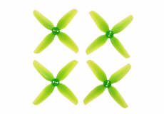 HQ Durable Prop Propeller T3.1x3x4 aus Poly Carbonate in grün transparent je 2CW+2CCW