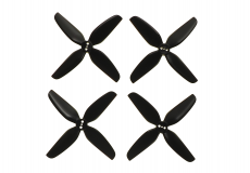 HQ Durable Prop Propeller T3.1x3x4 aus Poly Carbonate in schwarz je 2CW+2CCW