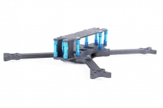 EGODRIFT Tribute EVO Style 5 Zoll Rahmen mit blauen Bone Verbindern