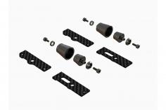 OXY Ersatzteil magnetisches Hauben Halterungsset in schwarz für OXY3, OXY4 und OXY4 MAX
