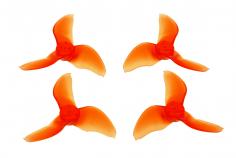 Emax Avan Blur Mini FPV Race Propeller 3-Blatt 2x1.9x3 je 2xCW und 2xCCW in rot