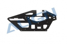 Align 470L Staranttieb Chassis Seitenteil Carbon links