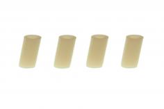 Nylon Abstandshalter 4 Stück M3x6mm