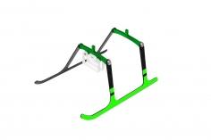 Rakonheli Landegestell Carbon in grün für Blade Nano S2