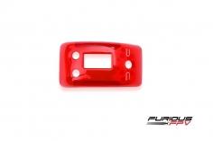 Furious FPV True-D X Ersatz Abdeckung in transparent rot für alle FatShark Dominator Videobrillen