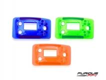 Furious FPV True-D X Ersatz Abdeckungs Set in transparent blau, grün und orange für alle FatShark Dominator Videobrillen