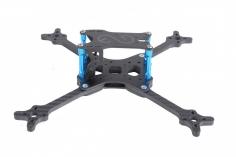 EGODRIFT Tribute EVO True-X 5,1 Zoll Rahmen mit blauen Bone Verbindern