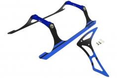 Rakonheli Landegestell und Leitwerk Set aus Carbon in blau für Blade 230 S und 230 S V2