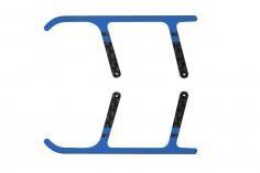 Rakonheli Landegestell Ersatzkufen aus Carbon in blau für Landegestell RKH01506 für Blade Nano CPX/ CP S und S2