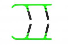 Rakonheli Landegestell Ersatzkufen aus Carbon in grün für Landegestell RKH01506 für Blade Nano CPX/ CP S und S2