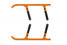 Rakonheli Landegestell Ersatzkufen aus Carbon in orange für Landegestell RKH01506 für Blade Nano CPX/ CP S und S2