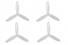 Gemfan FPV Race Propeller HULKIE POPO quick swap 5055 5×5,5x3 in transparent