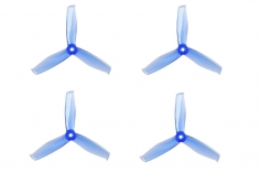 Gemfan FPV Race Propeller HULKIE POPO quick swap 5055 5×5,5x3 in blau transparent