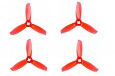 Gemfan FPV Race Propeller WINDANCER 3028 3×2,8x3 in rot transparent