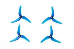 Azure SFP 3Blatt Prop 5148 5,1x4,8Zoll 2xcw + 2xccw 5mm Bohrung in blau